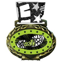 Walkathon Medal in Jam Oval Insert | Walkathon Award Medal