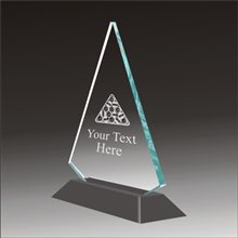Pop-Peak billiards acrylic award