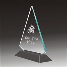 Pop-Peak bmx acrylic award