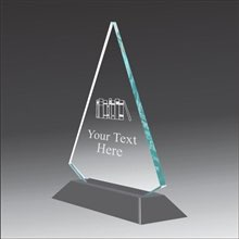 Pop-Peak english acrylic award