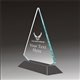 Pop-Peak military acrylic award