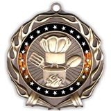 Colored Ring Cooking Medal