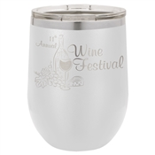 Stainless Vacuum Insulated Stemless Wine Glass
