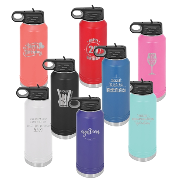 Stainless Vacuum Insulated 32 oz. Water Bottle