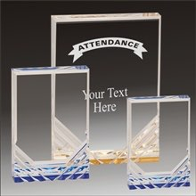 Attendance Jewel Mirage acrylic award