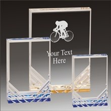 Biking Jewel Mirage acrylic award