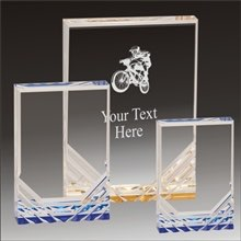 BMX Jewel Mirage acrylic award