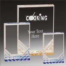 Cooking Jewel Mirage acrylic award