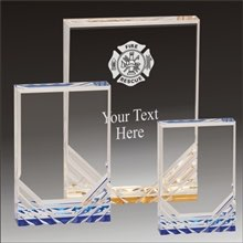 Fire Rescue Jewel Mirage acrylic award