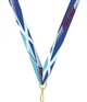"Swimming Snap Clip ""V"" Neck Medal Ribbon"