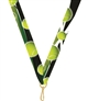 "Tennis Snap Clip ""V"" Neck Medal Ribbon"