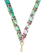 "Stars - Multicolor Snap Clip ""V"" Neck Medal Ribbon"
