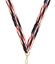 "American Flag Snap Clip ""V"" Neck Medal Ribbon"