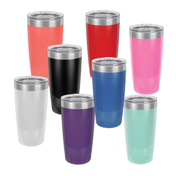 Personalized polar camel stainless vacuum tumbler