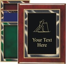 Piano Finish Cross Country Ski Award Plaque