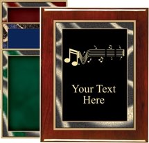Piano Finish Music Award Plaque