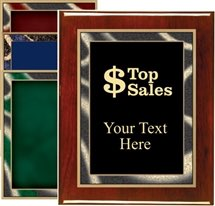 Piano Finish Sales Award Plaque