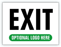 Event Parking Sign - Exit
