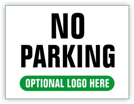 Event Parking Sign - No Parking