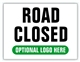 Event Parking Sign - Road Closed