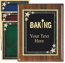 Piano Finish Baking Award Plaque