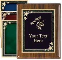 Piano Finish Spelling Award Plaque