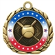 Colored Ring Baseball or Softball Medal