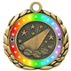 Colored Ring Cheer Medal