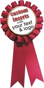 Custom Full Color Printed Award Ribbon