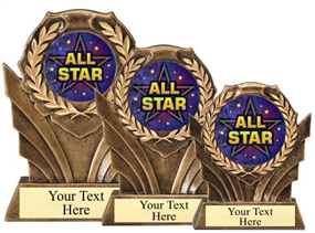 All Star Resin Trophy