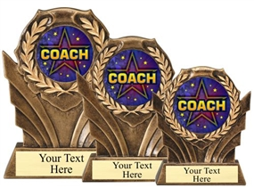 Coach Resin Trophy