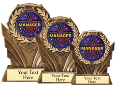 Manager Resin Trophy