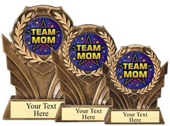 Team Mom Resin Trophy