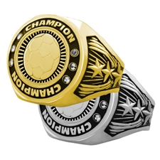 Champion Soccer Award Ring
