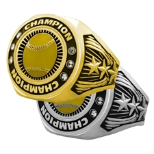 Champion Softball Award Ring