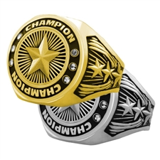 Champion Star Award Ring