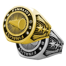 Finalist Cheerleading Award Ring
