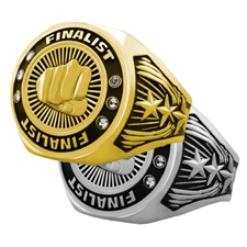 Finalist Martial Arts Award Ring