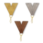 "Snap Clip ""V"" Neck Medal Ribbon"