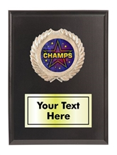 Champion Plaque