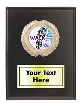 Walkathon Plaque