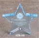 Star Acrylic Paperweight Award