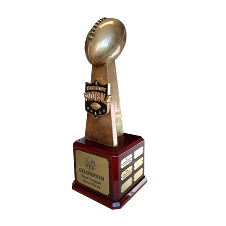 Fantasy Football Champion Perpetual Trophy