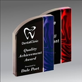 Wave Velvet Acrylic award