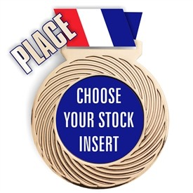 Place Full Color Insert Medal