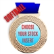 Softball Full Color Insert Medal