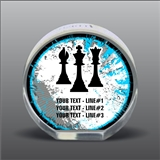 Full Color Printed Chess Acrylic Award