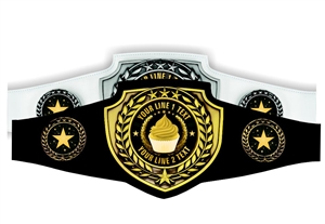 Champion Belt | Award Belt for Baking