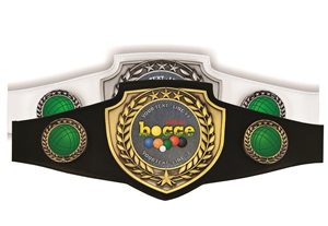 Champion Belt | Award Belt for Bocce Ball