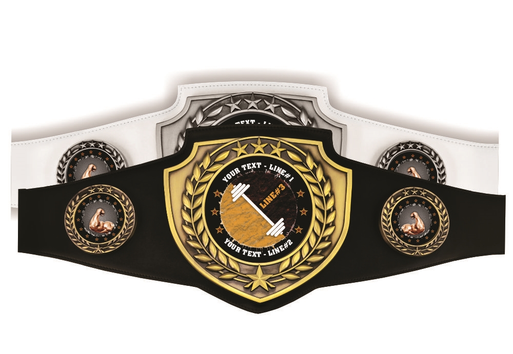 Wedding Themed Custom Award Belt